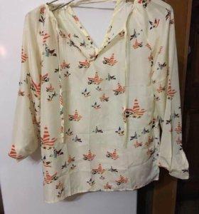 Блузка летняя 44 размер