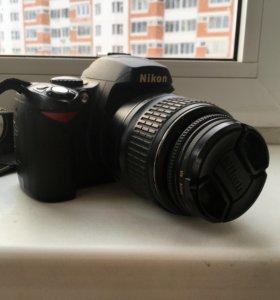 Зеркальный фотоаппарат Nikon d40x