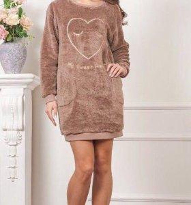 Платье НОВОЕ тёплое размер 42-44