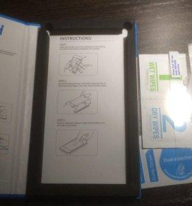 Стекло защитное на экран для iPhone 5, 5c, 5s, se