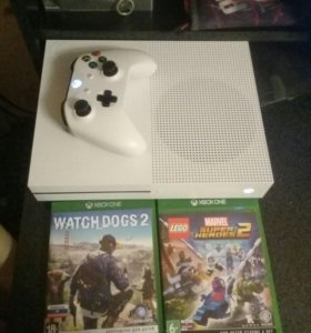 Xbox One s на 500 гб