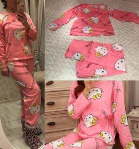 Розовая пижама hello kitty