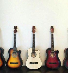 Новые гитары 6 струн