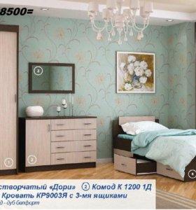 """Спальня """" ДОРИ """" комплект 1 тхм"""
