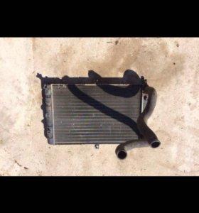 Радиатор ваз 2110 2111 2112 с вентилятором