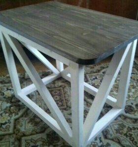 Журнальный столик ручной работы