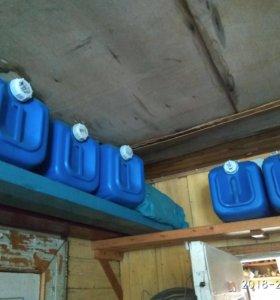 Канистры  20 литров под солярку