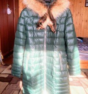 Зимнее пальто. 46 размер.