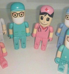 Флешки подарок медперсонал на 16гб медицина