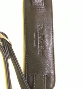 Кожаный плечевой ремень для сумки Dr.Koffer