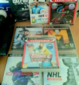 Sony PlayStation 3 Superslim 500GB + 12 игр