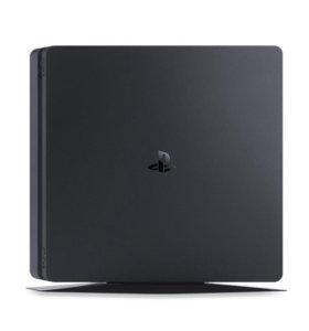 PlayStation 4 slim 1 tb без джойстика