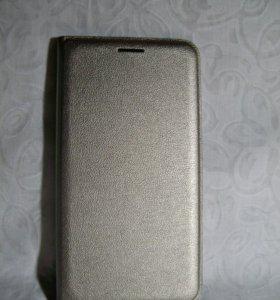 Чехол на Samsung Galaxy J1 (золотистый)