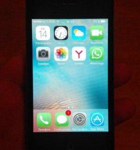 iPhone 4s black 8Gb Ростест