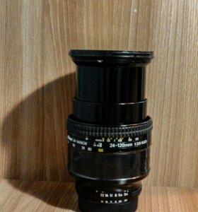 Nikon 24-120mm f3,5-5,6d af