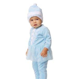 Комбинезон-костюм Снегурочка