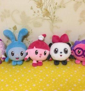 Комплект мягких игрушек Малышарики
