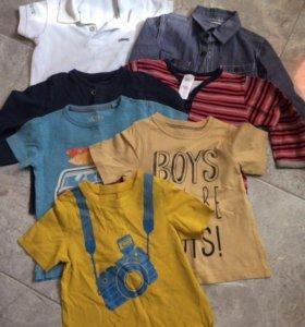 Одежда пакет на мальчика р.86