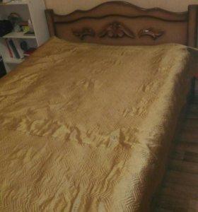 Кровать с ящиком для хранения