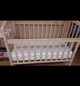 кровать маятник балдахин бортики