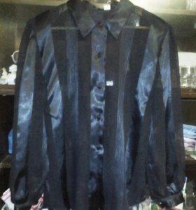 Блузка фирменная нарядная, размер 50-52