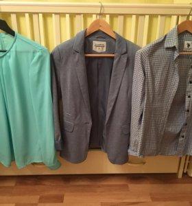 Рубашки и пиджак