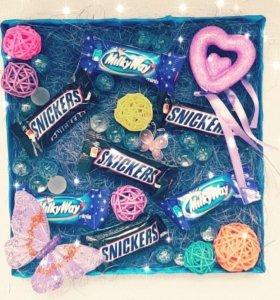 Коробочки с конфетками