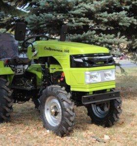 Трактор СТАВРОПОЛЕЦ 130 в комплекте фреза!!!