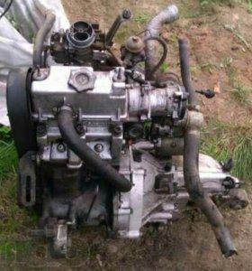 Двигатель от Оки с кпп