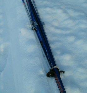 Лыжи беговые , 190 см.
