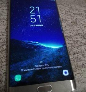 S6 Edge Plus оригинал в идеале Gold g928x g928f
