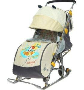 Продам санки-коляска ника 7