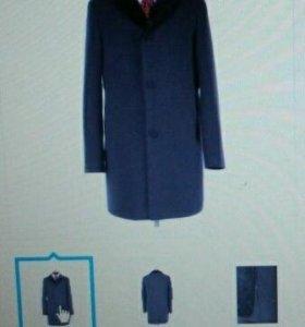 Мужское пальто демисезон