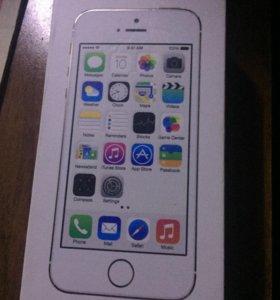 Коробка на iPhone 5s