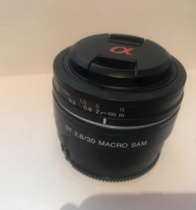 Sony 30mm f2.8 Macro