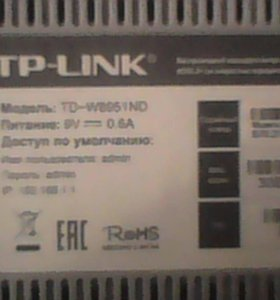 TP LINK TD - W8951 ND