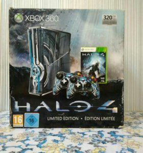 Xbox 360 Limited-Edition Halo 4 (1TB) + Kinect