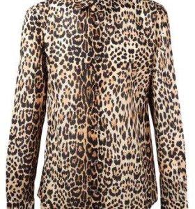 Новая блуза леопард