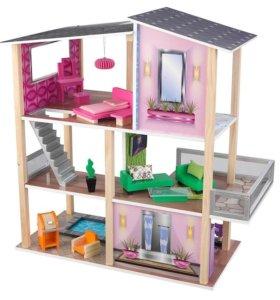 Кукольный домик KidKraft Современный коттедж