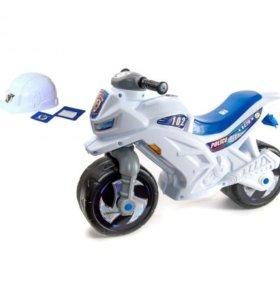 толокар мотоцикл музыкальный