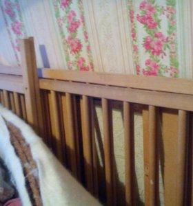 Кроватка детская ikea синглар.