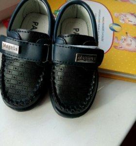 Туфли на мальчика 22 р