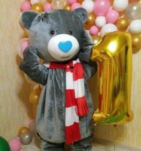 Мишка Тедди поздравит вашего ребенка!