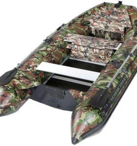 Нордик 380 Hardy камуфляж новая пвх лодка