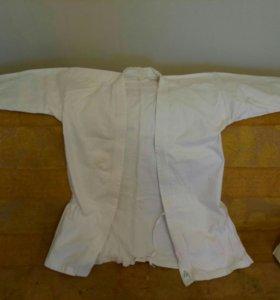 Кимоно (+капа, защита на пах и пояс)