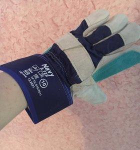 Перчатки рабочие монтажные новые