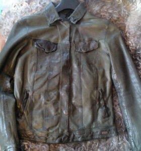 Куртка кожаная производство Германия