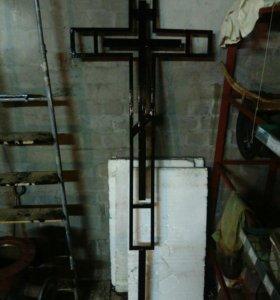 Крест надгробный