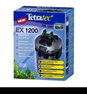 Фильтр для аквариума наружний. До 500 литров. Б/у
