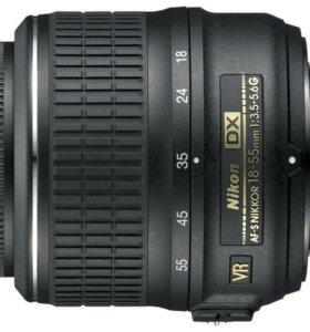 Объектив оригинал AF-S NIKKOR 18-55mm 1 3.5-5.6G
